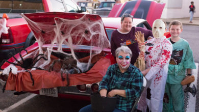 Photo of Crowds Fill Downtown for Plow Boys Trunk-or-Treat