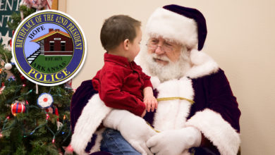 Photo of HPD Seeking Donations for Santa Cop