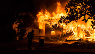 Photo of Fire Destroys House, Damages Two Others